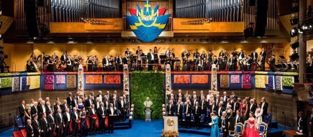 La Konserthuset, la famosa Sala dei concerti di Stoccolma in cui avviene la cerimonia di premiazione del Nobel