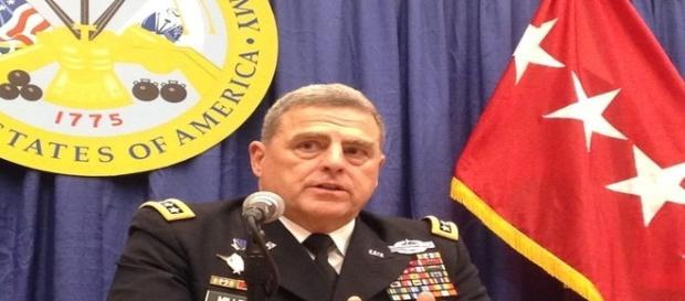 Mark A. Milley acredita na inevitabilidade de guerra contra a Rússia (Banco de Imagens Google)