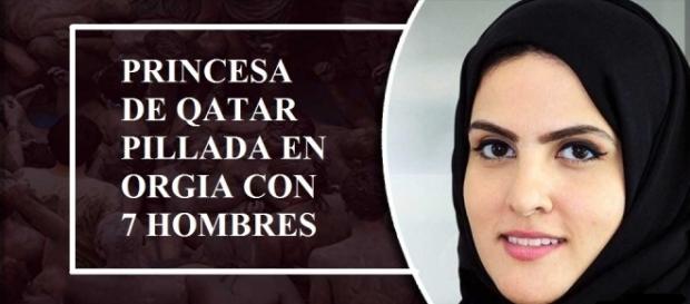 Shaika, la princesa depravada de Qatar.
