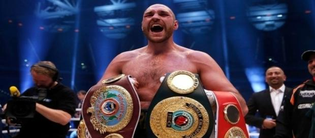 Tyson Fury, campeão mundial de boxe dos pesos-pesados