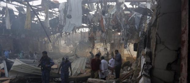 Yemen funeral airstrike kills over 140 as rebels blame Saudi ... - thesun.co.uk