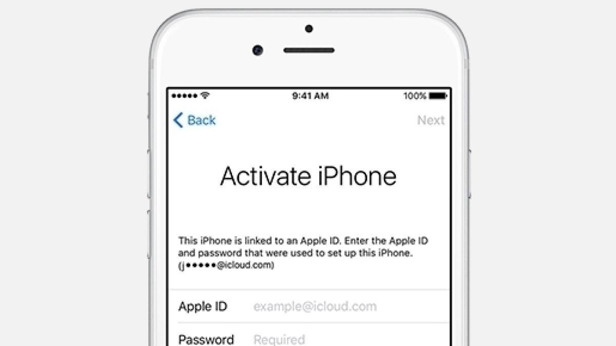 Resettare iPhone bloccato con backup