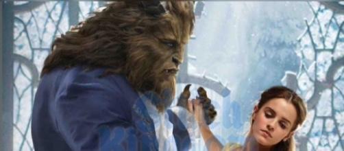 A Bela e a Fera novo clássico da Disney reproduzido para ser lançado em Março de 2017.