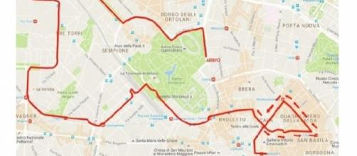 Blocco del traffico e deviazioni mezzi pubblici a Milano il 9 ottobre per la Deejay Ten