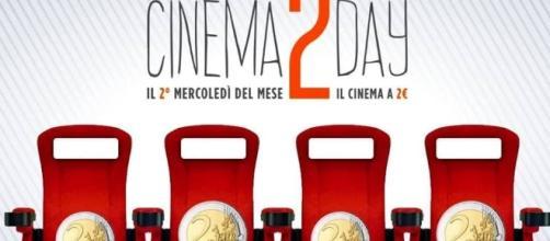 Cinema2Day, il mercoledì a 2 euro: dal 12 ottobre comincia la promozione