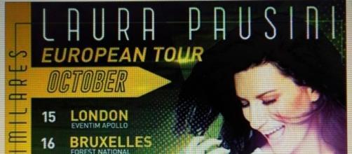 "European Tour di Laura Pausini prima del suo ""Stop"""