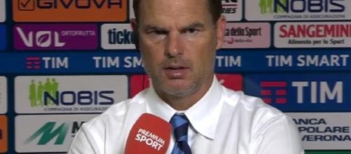 Frank De Boer, allenatore dell'Inter