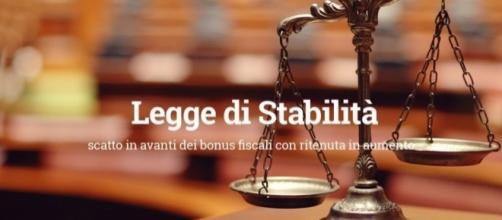 Legge di stabilità 2017 aggiornamenti