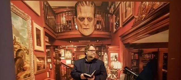Director and Screenwriter, Guillermo Del Toro at LACMA's Press Preview (photo credit: Odette Perez)