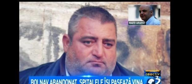 El este românul abandonat pe trotuar
