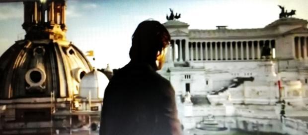 Scena di Keanu Reeves a Roma in 'John Wick 2'.