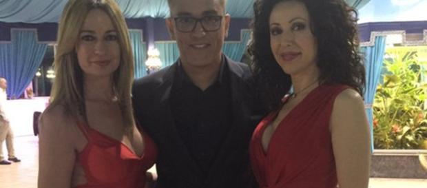Susana Espona junto Kiko Hernandez y Olvido Hormigos