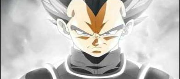 vegeta super saiyajin dios white