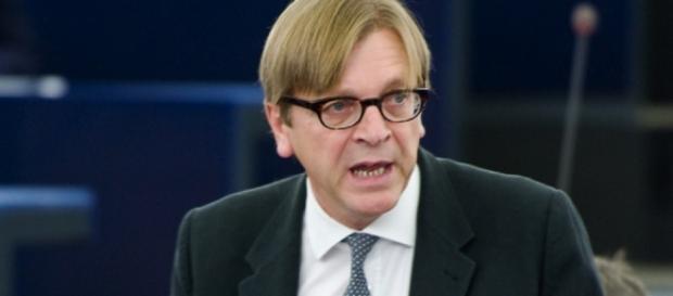 Verhofsadt w pierwszym szeregu nagonki na Polskę