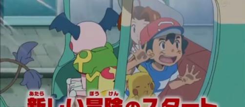 Ash e Pikachu in Pokémon Sole e Luna