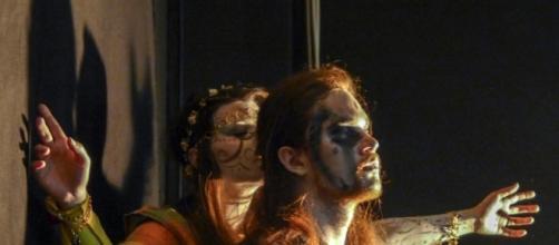 EsosTheatre: Gianluca Minissale e Alessandra Borgosano performers (foto Rocco Luvarà)