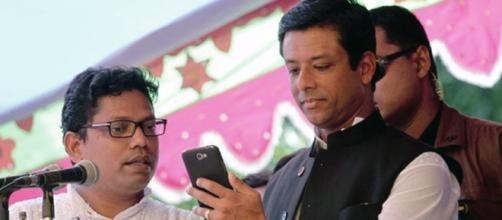 Sajeeb Wazed Joy son of Sheikh Hasina