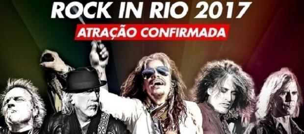 Aerosmith é mais uma atração confirmada no Rock in Rio 2017.