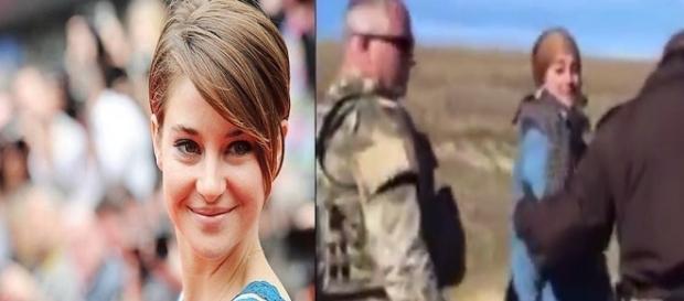 Atriz Shailene Woodley foi presa