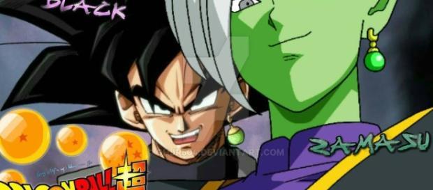 BLACK Y ZAMASU DRAGON BALL SUPER