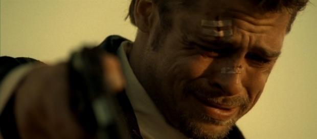 Brad Pitt estava bem ansioso por este momento