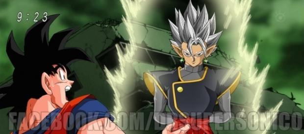 Dragon Ball Super Capítulos 62, 63, 64 y 65 La fusión de Black Goku y zamasu y el Mafuba.