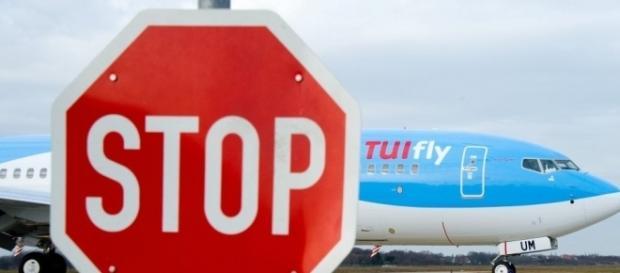 Fluggesellschaft Tuifly streicht am Freitag alle Flüge. Foto: morgenpost.de