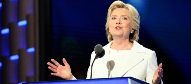 Hillary Clinton. Picture Ali Shaker/VOA, Creative Commons