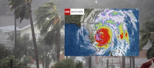 L'ouragan Matthew a dépassé Daytona Beach (montage Jef T. - Blasting News)