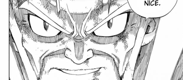 Makarov, l'un des plus grand personnage du manga Fairy Tail utilise son dernier sort.