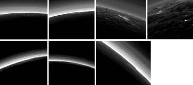 Nuvole su Plutone. Foto crediti: NASA/JHUAPL/SwRI.