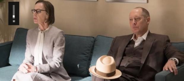 "Red and Kaplan finally manage to resolve their issues / Photo via Youtube - The Blacklist Season 4 Episode 2 Promotional Photos ""Mato"" - Tvspoiler"