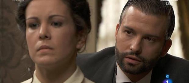 Una Vita, trame spagnole al 14-10: Huertas e Felipe si baciano