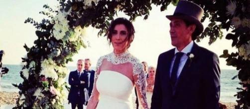 Foto de la boda de Paz Padilla