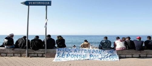 Migranti in transito a Ventimiglia