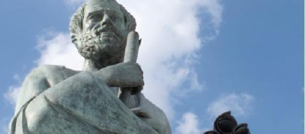 Filósofo grego Aristóteles, pai da biologia e da lógica