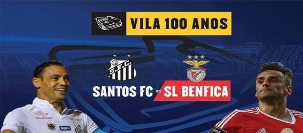 Jogo amigável marca os 100 anos do Santos FC