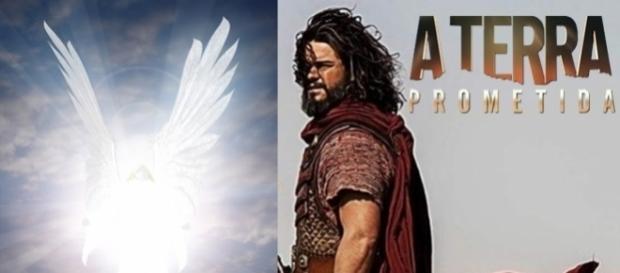"""Josué vê o Anjo do Senhor em """"A Terra Prometida"""""""