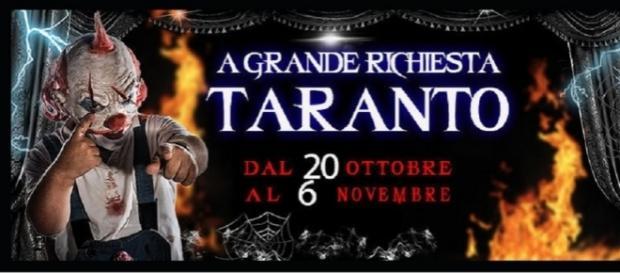 Paranormal Circus Taranto, prezzi biglietti e orari