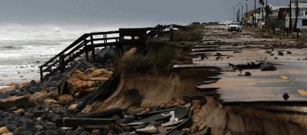 Une image parmi les milliers d'autres des dégâts de l'ouragan Matthew sur quatre États étasuniens