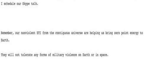L'email pubblicata da wikileaks