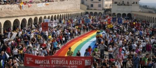 Marcia della Pace Perugia-Assisi del 9 ottobre.