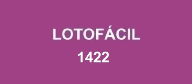 Anúncio do resultado da Lotofácil 1422 em 10/10