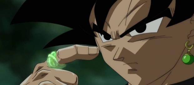 Black a-t-il utilisé l'anneau gris ou vert ?