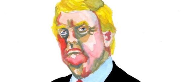 Imagen: Donald Trump por Alex Ceball