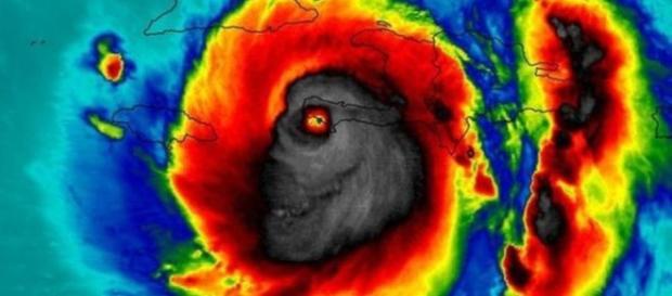 por que muitos veem um 'monstro' em imagem de furacão feita por ... - emfo.co