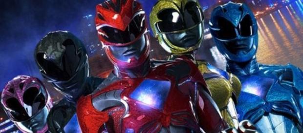 Póster de la nueva producción cinematográfica de 'Power Rangers'