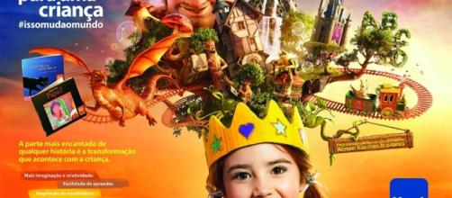 """A Fundação Itaú oferece a Campanha """"Leia para uma criança"""""""