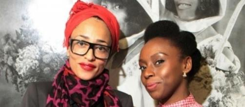 Books Live, Zadie Smith and Chimamanda Adichie.