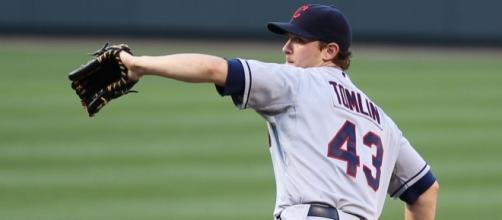 Josh Tomlin is looking to pick up his third win for the Indians this post-season. Photo: Wikimedia